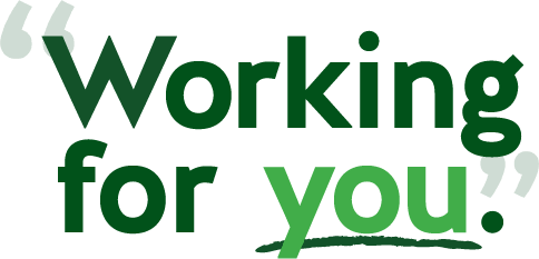 Working For You!