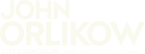 John Orlikow - City Councillor, River Heights/Fort Garry Ward